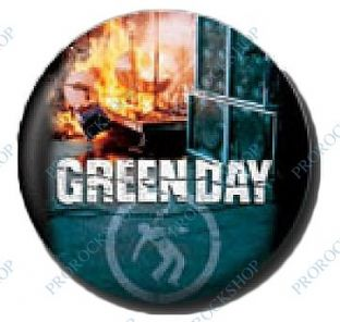 Green Day - (25mm Button Badge) (2)